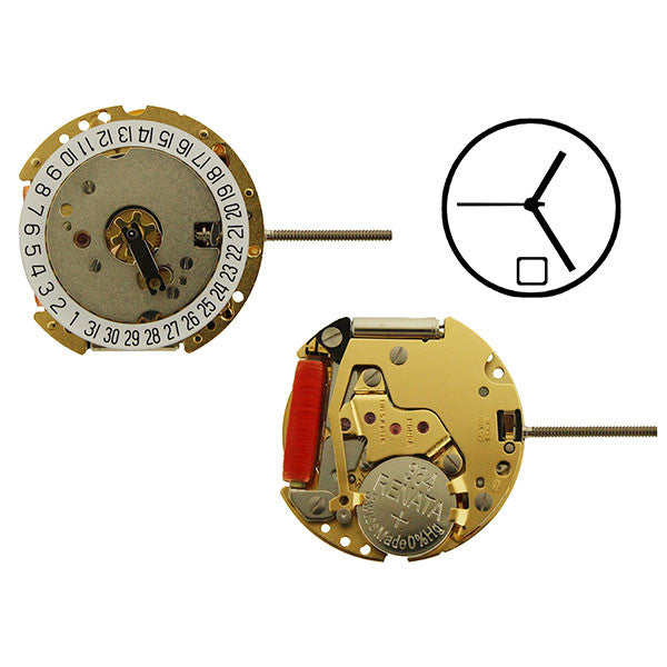 RL775-6 Swiss Watch Movement