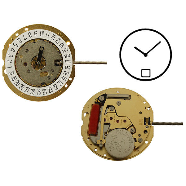 RL784 Date 6 Swiss Watch Movement (9346152708)