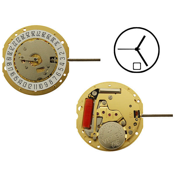 RL785-6 Height 0 Watch Movement (9346154692)
