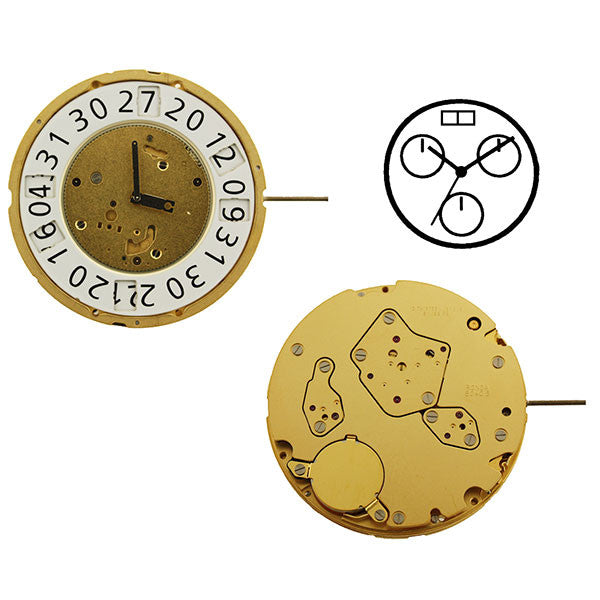 RL8040B Swiss Watch Movement (9346155524)