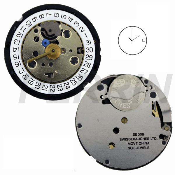 SE308 31 Watch Movement