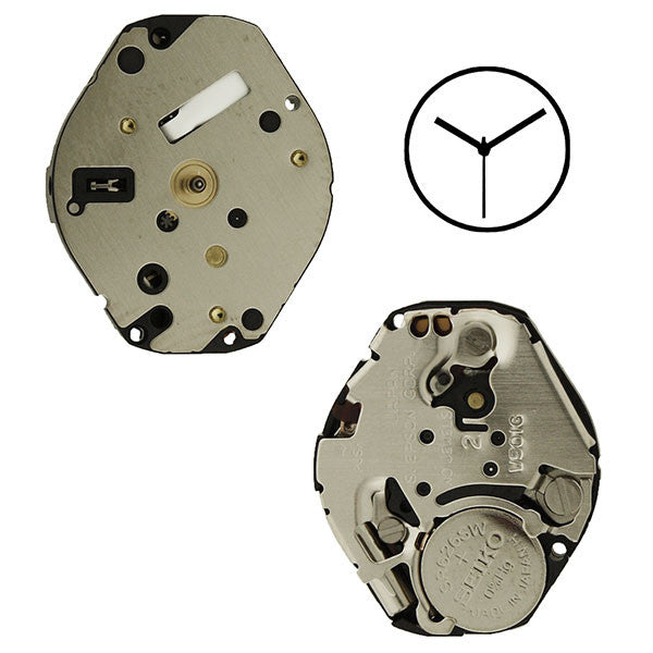 V501 20 Seiko Watch Movement
