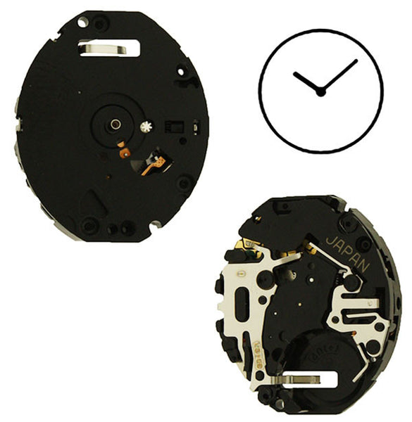 V810 10 Seiko Watch Movement