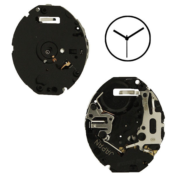 V811 10 Seiko Watch Movement