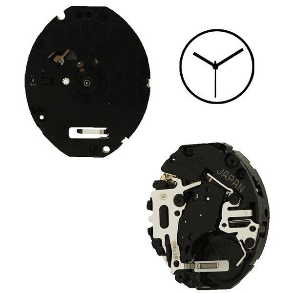 V811 30 Seiko Watch Movement
