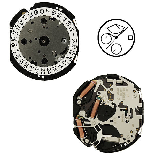 VD50 SII Quartz Watch Movement