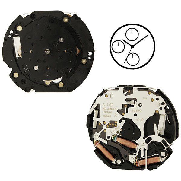 VD55  Height 2 SII Watch Movement (9346165700)