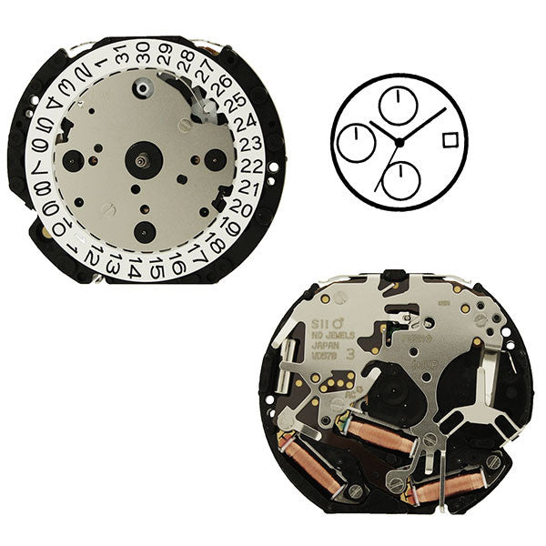 VD57 Height 2 SII Watch Movement