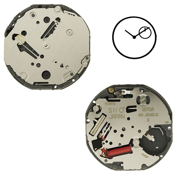 VD72 SII Quartz Watch Movement (9346166916)