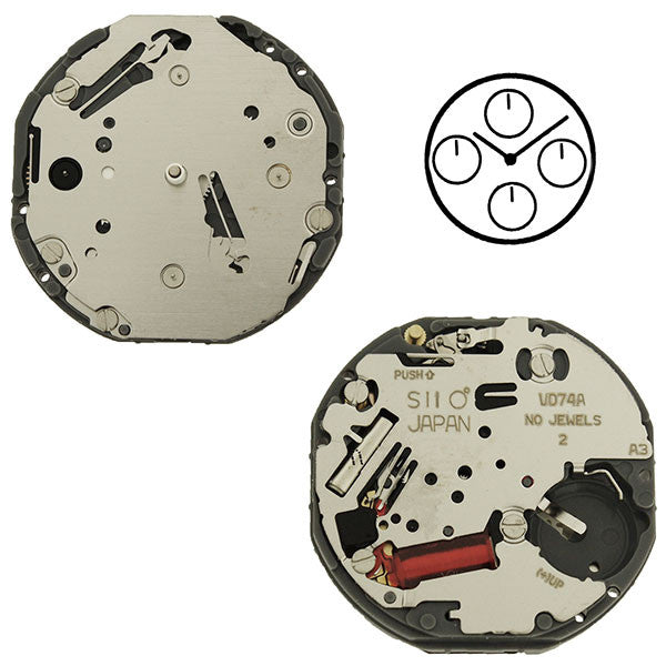 VD74 SII Quartz Watch Movement (9346167684)