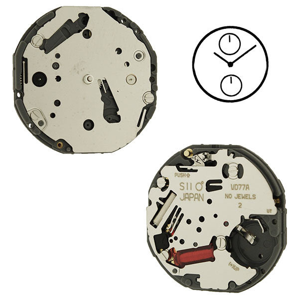 VD77 Height 2 SII Watch Movement (9346169156)