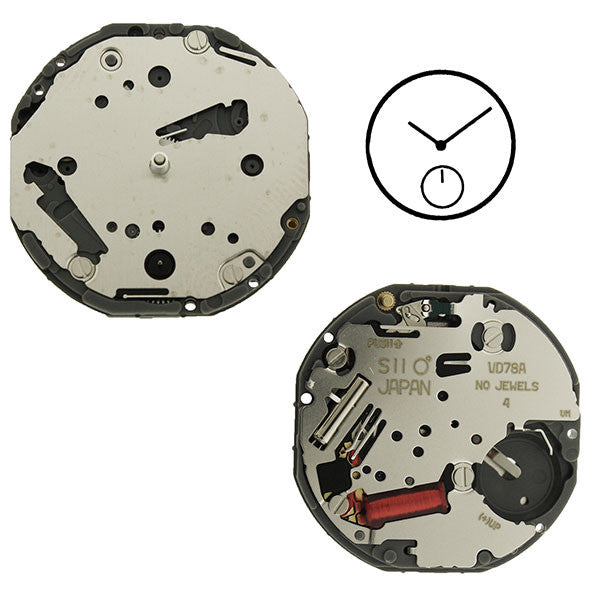 VD78 Height 2 SII Watch Movement