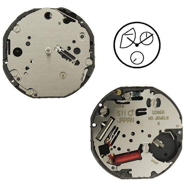 VD86 SII Quartz Watch Movement