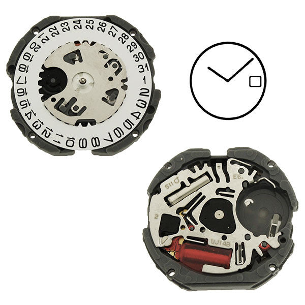 VJ14 SII Quartz Watch Movement (9346172676)