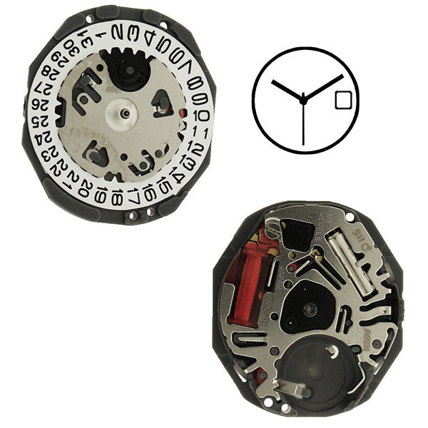 VJ22 Height 2 SII Watch Movement (9346174276)