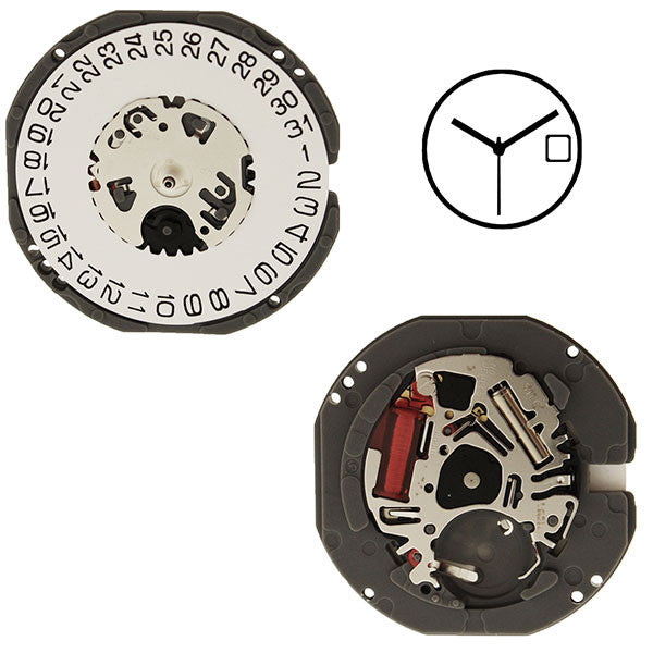 VJ32 Height 2 SII Watch Movement