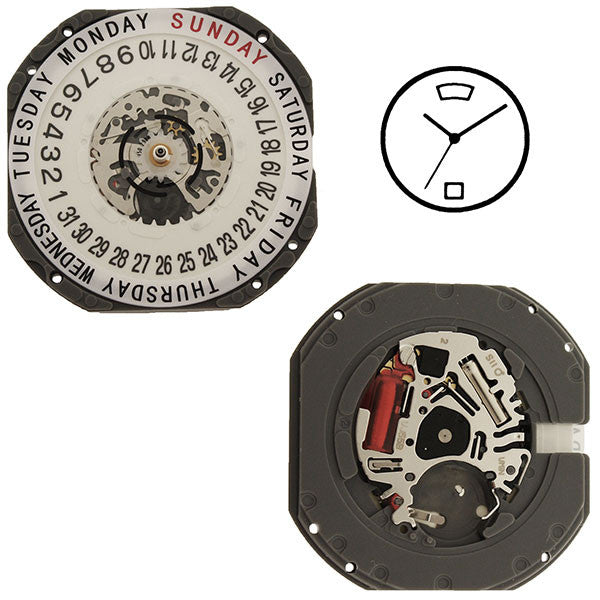 VJ55 SII Quartz Watch Movement (9346178308)