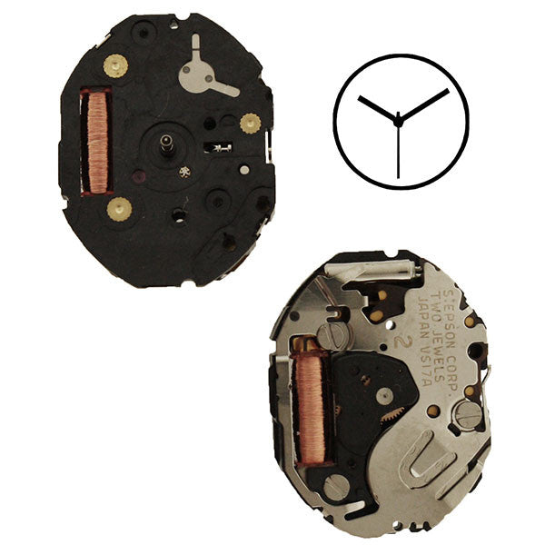 VS17 Epson Watch Movement
