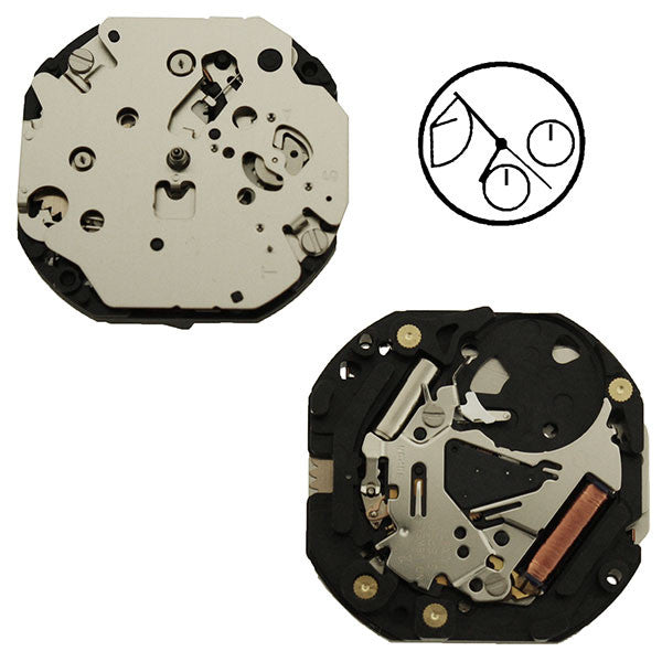 VX3T Epson Watch Movement