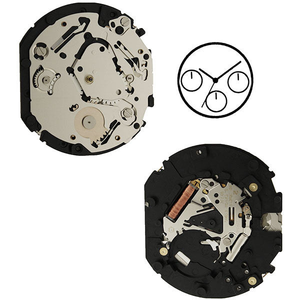 VX7JE Epson Watch Movement