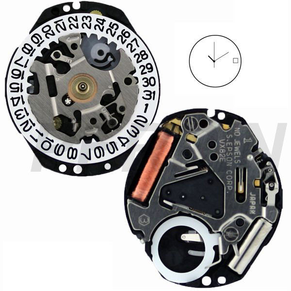Epson SII Watch Movements | Perrin Wholesale Watch Movements