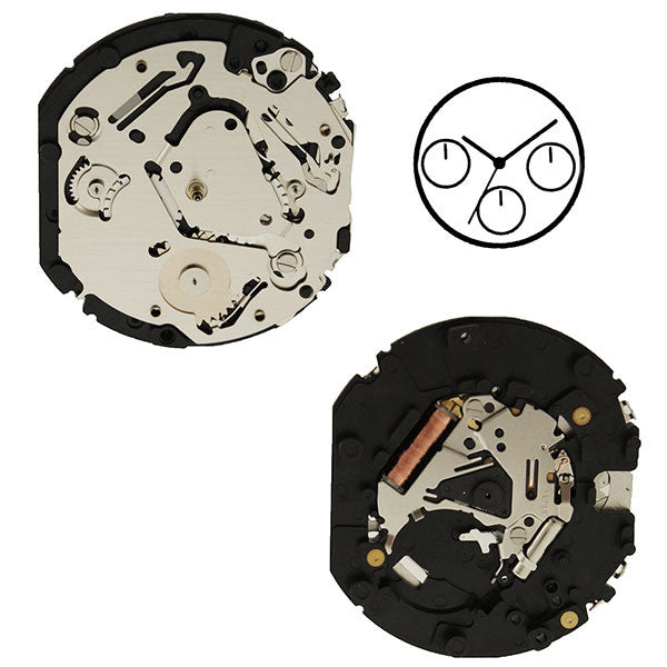VX9J Epson Watch Movement (9346195204)