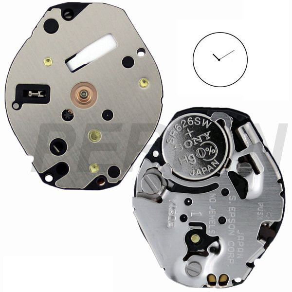 Y120E Epson Watch Movement