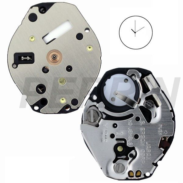 Y121E HCP Epson Watch Movement