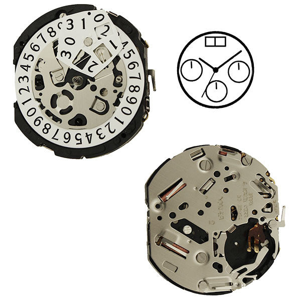 YM04 Epson Watch Movement