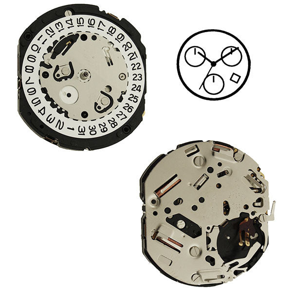 YM12 Epson Watch Movement
