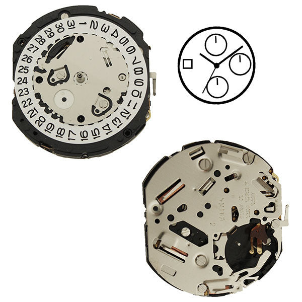 YM15 Epson Watch Movement