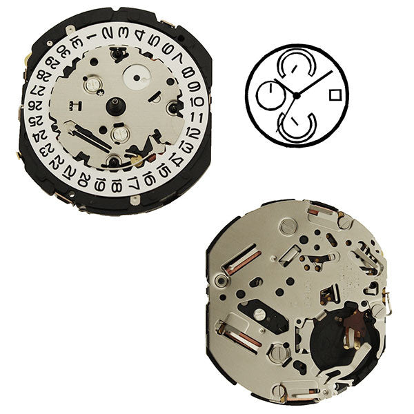 YM85 Epson Watch Movement