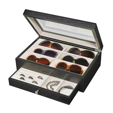 DJ106 Wooden Watch and Sunglass Box (1557686321186)