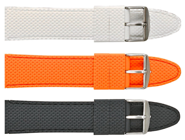 Dimpled Silicon Watch Strap