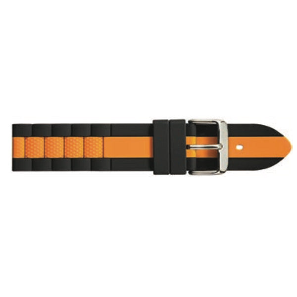 S3200 Striped Silicon Watch Strap