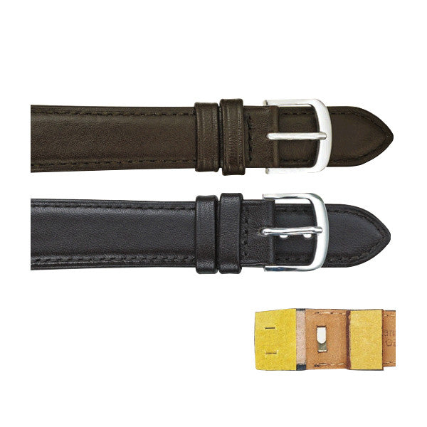 149 Padded Stitched Leather Watch Strap