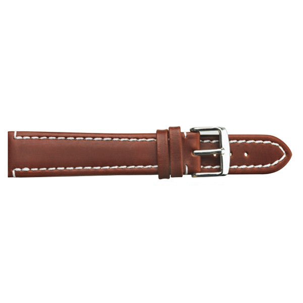 brown oil leather watch strap (9318847044)