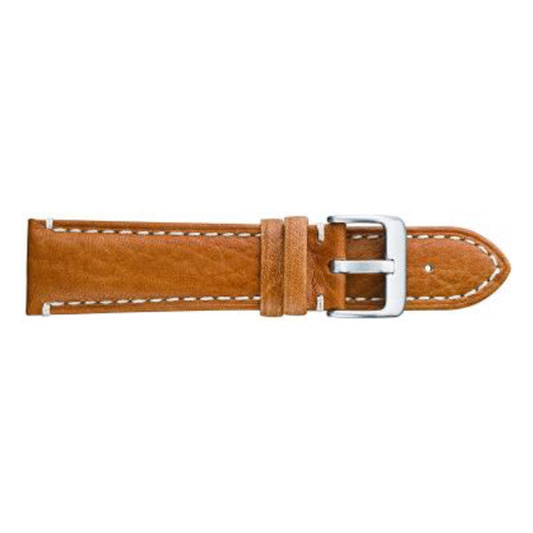350 Camel Grain Leather Watch Strap