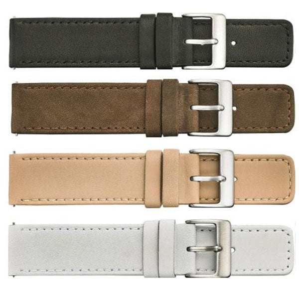 381 Soft Stitched Leather Watch Strap