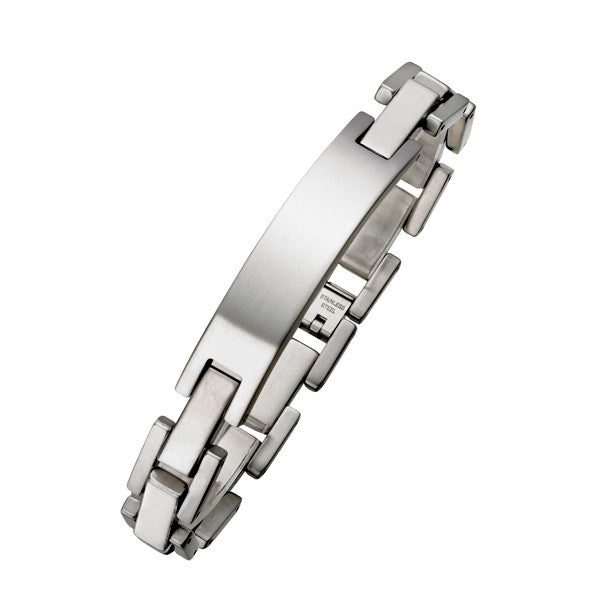 Steel 11mm Id Bracelet