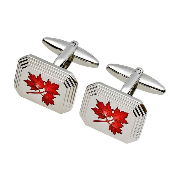 Maple Leaf Flag Cufflink (9318925956)