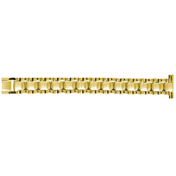 yellow metal watch band