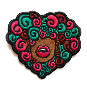 Curly Love Patch