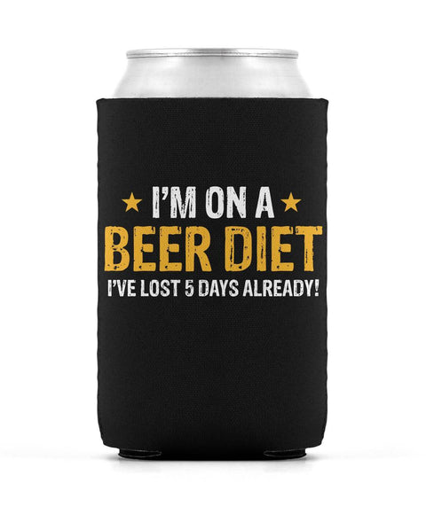 Beer Diet Can Sleeve
