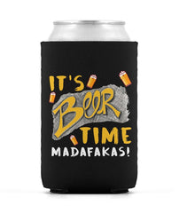 Beer Time Can Can Sleeve