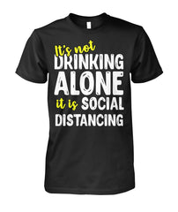 Social Distancing Unisex Cotton Tee