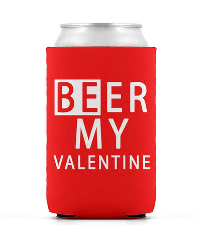 Beer My Valentine Can Sleeve