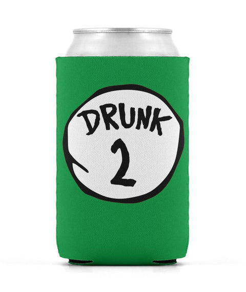 Drunk 2 Can Sleeve St Patrick's Day Edition Can Sleeve