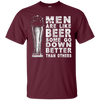 Men Are Like Beer