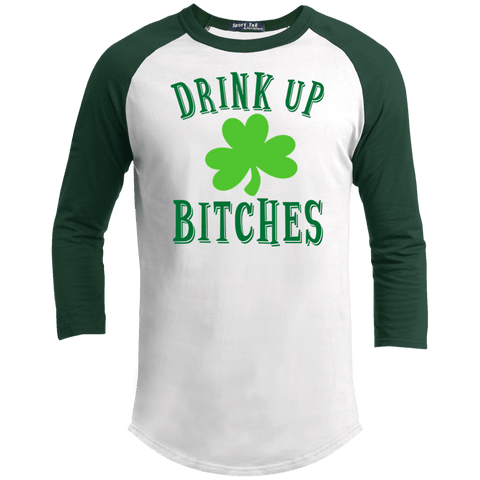 Drink Up Bitches Colorblock Shirt